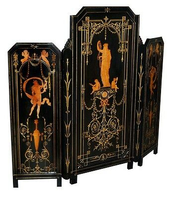 Vicorian Ebonized Screen, c.1875 #7392