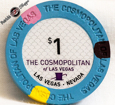 $1 One Dollar Poker Gaming Chip The Cosmopolitan Hotel Casino Las Vegas Nevada