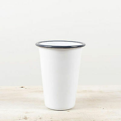 Crow Canyon Home Vintage Style 14 Oz Enamelware Tumbler Drinking Cup