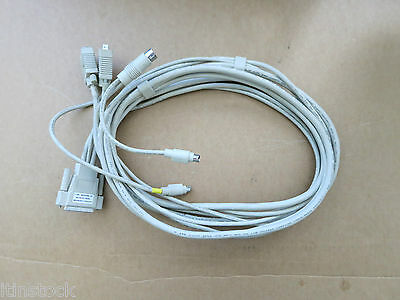 Black Box EHN056-0008 8FT KVM Cable P/N EHN056-0008
