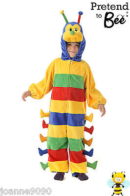 New Boys Girls Book Week Day The Very Hungry Caterpillar Bug Fancy Dress Costume