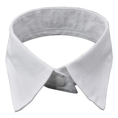 TRIXES Womens Peter Pan Fashion White Detachable Collar Choker Neck Bow Tie