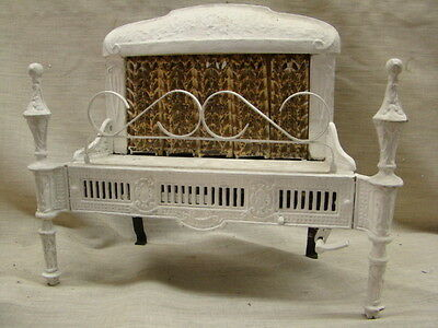 Antique 1900's Cast Iron Ornate Gas Fireplace Insert Reznor 250 S...
