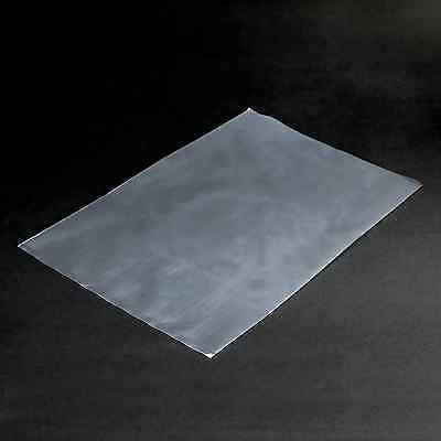 "13"" x 17"" Clear 1.5 mil Poly Bag Qty 100 Flat Top Open End Plastic Bags _267-01"
