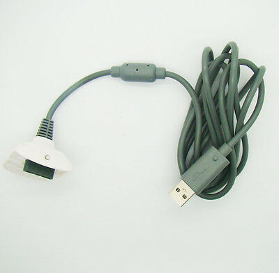1.8m USB Charge Cable for Xbox 360 Controller Gamepad Charger charging XBOX360