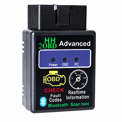 HHOBD Bluetooth CAN BUS Interface OBD2 Android Handy Diagnose Scanner Adapter