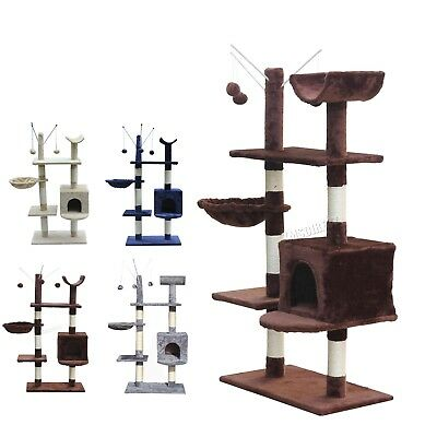 FoxHunter Cat Tree Scratching Post Activity Centre Bed Toys Scratcher 2288 New