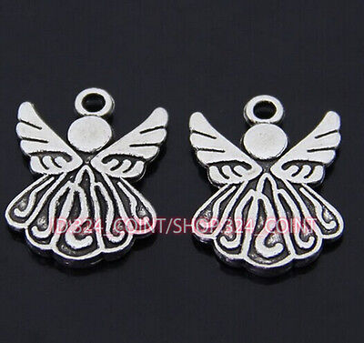 P036 15pcs Tibetan Silver Charm Little Angel Jewelry Accessories Bead Wholesale