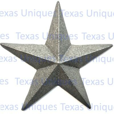 "4-7/8"" Inch Cast Iron Star With Nail ST7 (Lot of 4)"