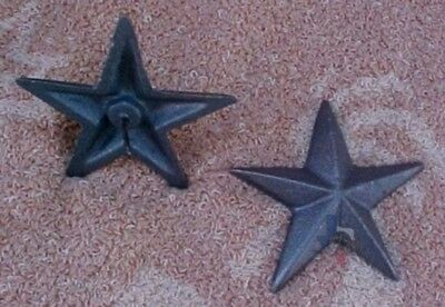 2.75 Inch Cast Iron Star With Nail ST9 (Lot of 25)