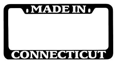 Chrome License Plate Frame Connecticut Girls Do It Better Auto Accessory 2309