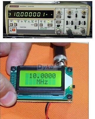 High Accuracy 1~500 MHz Frequency Counter Tester measurement lcd display Digital