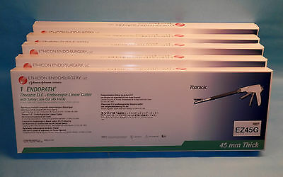 ENDOPATH EZ45G Thoracic ELC Endoscopic Linear Cutter 45mm Lot of 5 INDATE SB*