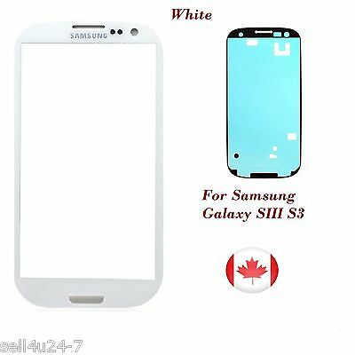 White Replacement LCD Front Glass Lens Samsung Galaxy S3 i9300 I747 T999 NEW