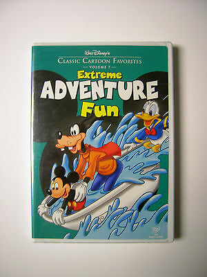 Walt Disney's Classic Cartoon Favorites - Volume 7: Extreme Adventure Fun on DVD