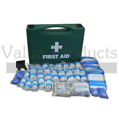 1-50 Person HSE Catering / Kitchen Workplace Business First Aid Kits & Refills