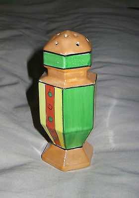 1891/1921 Antique Nippon Sugar Shaker Gold Green & Red,  Family Owned Since 1938