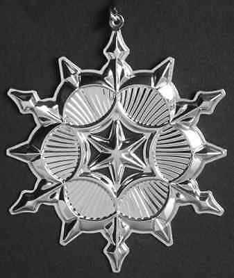 Gorham Silver ORNAMENT 2006 Sterling SNOWFLAKE 5740718