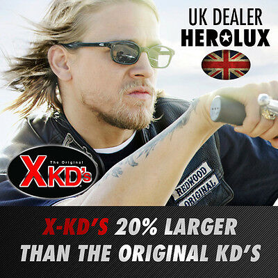 X-KD's Biker Sunglasses 20% Larger. Jax Teller Sons of Anarchy KDs. Original KD