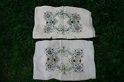 """Vintage Hand-Embroidered pillow 18"""" X 20"""""""