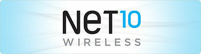 Net10 wireless $40 Refill FASTEST REFILL card Credit applied DIRECTLY to PHONE