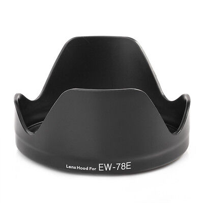 Replacement EW78E EW-78E Lens Hood Cover For Canon EF-S 15-85mm f/3.5-5.6 IS USM