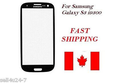 Black Replacement LCD Screen Glass Lens Samsung Galaxy S3 i9300 T999 NEW
