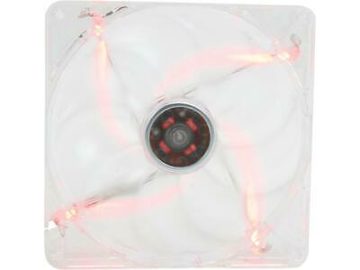 140mm Computer Case Cooling Fan LP4 Adapter Red LED Dynamic Bearing Silent Rosew