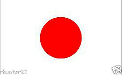 Huge 3' x 5' High Quality Japan Flag - Free USA Shipping