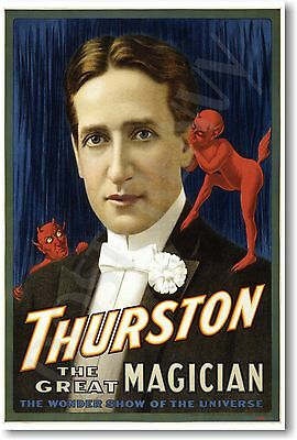 Thurston the Great Magician 2 - NEW Vintage Reprint POSTER