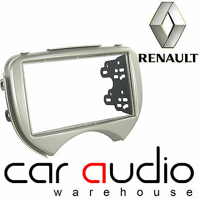 Connects2 CT23RT08 Renault Scala 11 On Car Stereo Double Din Fascia Facia Panel