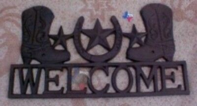 Western Metal Art Welcome Signs Western Welcome Plaque RD61107