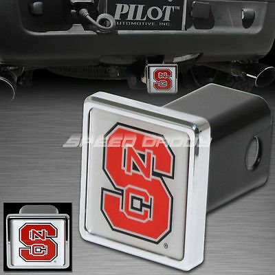 COLLEGIATE NCAA NORTH CAROLINA NC STATE WOLFPACK SUV HITCH COVER/RECEIVER CR-949