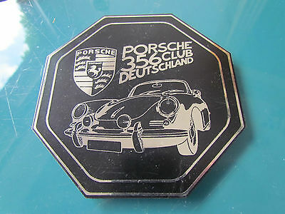 Porsche 356 Club Deutschland (A) - Autoplakette Plakette Badge Placca Plaque