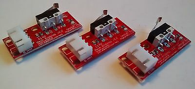 3D Printer Endstop Switch on PCB & Cable - Mechanical Lever Microswitch End Stop