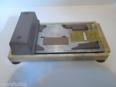 Vintage Addressograph Credit Card Imprinter For Master Charge & Visa!