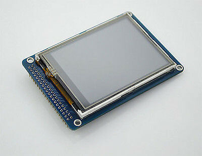 "3.2"" inch TFT LCD Module Display 320x240 + Touch Panel PCB Adapter SD Card"
