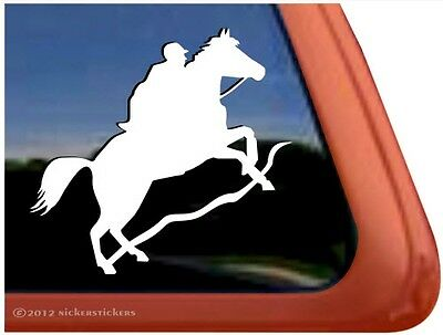 Endurance Horse Riding Trailer Car Truck Window Decal Sticker