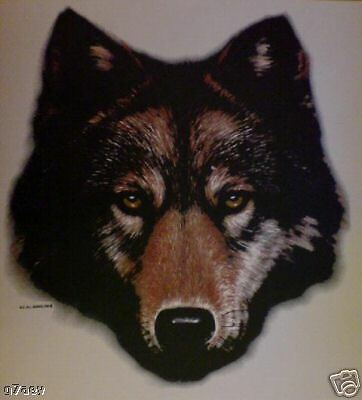 Wolf Head On  A Tote Canvas Bag