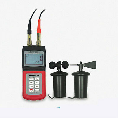AM4836C Anemometer Air Flow Wind Speed Meter Cup Direction Probe C F Beaufort