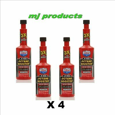 Lucas octane booster x 4 , 3 times more boost than most other brands!!  pn.10026