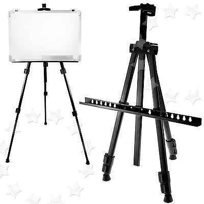 Artist Field Studio Easel Display Painting White Board Adjustable Tripod Stand
