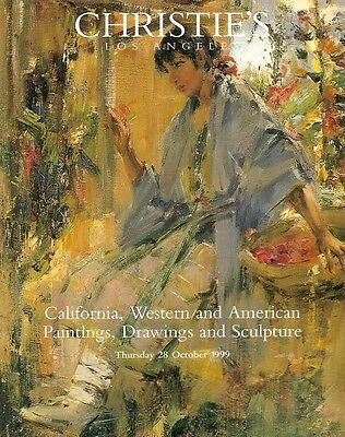 Christie's 9288 California Western American Paintings Auction Catalog 1999