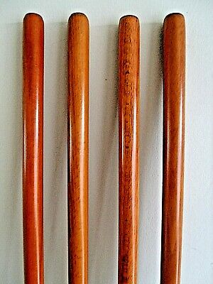 Shaft for Walking Sticks Making Walnut Colour Stick Wooden Shanks Part New Canes