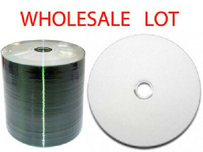 900 Blank CDs White Inkjet Printable - Largest  White Surface Space You Can Find