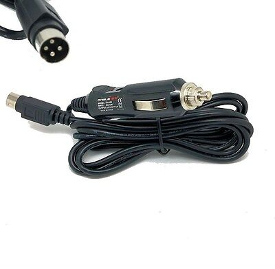 ALBA A12V LCD15TV22 TV Car adapter charger cable power lead