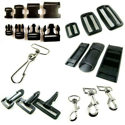 Delrin Buckles / Sliders / Shoulder Straps / Dog Hooks / Trigger Hooks/Bag Craft