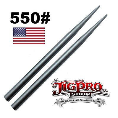 Wholesale Stainless Steel 550 Paracord Fids Lacing Stitching Weaving Needles 2pc