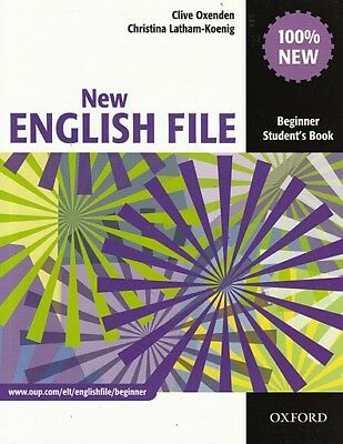Oxford NEW ENGLISH FILE Beginner Student's book / Coursebook @BRAND NEW@