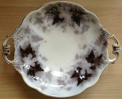 Villeroy & Boch-Bryonia-Porcelain-Round Tray-Fruit Bowl-Vintage-19th Century